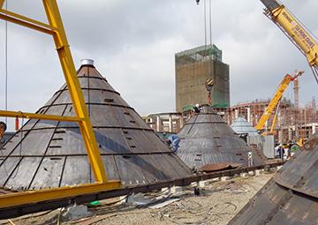 Lắp đặt silo, máy móc, thiết bị cơ điện & ống công nghiệp