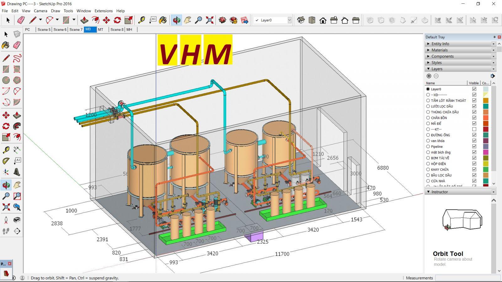 Quy trình thi công lắp đặt đường ống công nghiệp